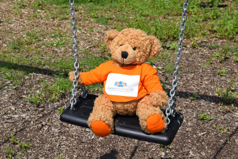 Austin, the Autism Initiatives teddy