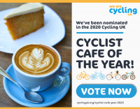 MeCycle nominated for national award by UK cycling charity